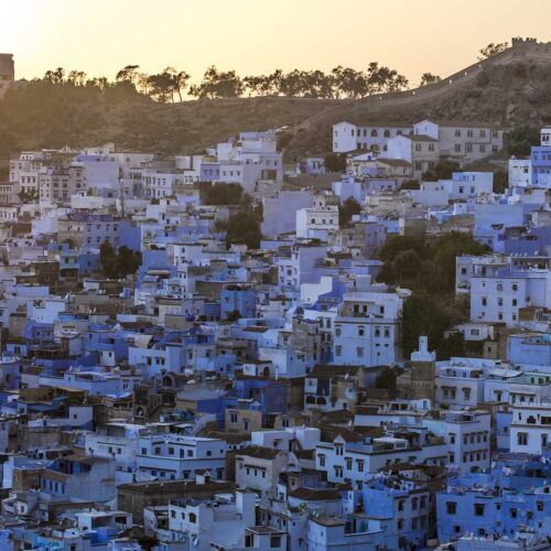 Tangier and the Blue City